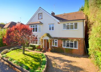 Thumbnail 5 bed detached house for sale in Longhurst Road, East Horsley, Leatherhead