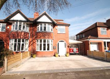 Thumbnail 4 bed semi-detached house for sale in Mossdale Road, Sale