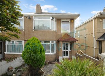 3 bed semi-detached house for sale in Efford Crescent, Higher Compton, Plymouth, Devon PL3