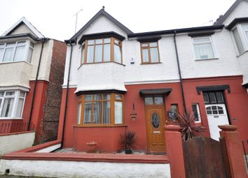 Thumbnail 3 bed semi-detached house for sale in Turret Road, Wallasey