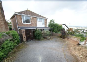 Thumbnail 4 bed detached house for sale in Red Brook Close, Paignton