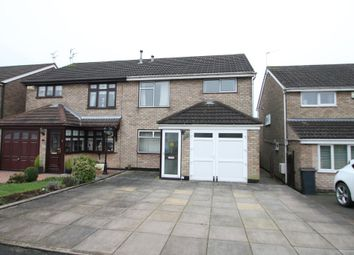Thumbnail 3 bed semi-detached house for sale in Norfolk Crescent, Nuneaton