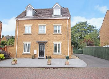 Thumbnail 4 bed detached house for sale in Caspian Gardens, Westbury