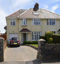 Thumbnail 5 bed semi-detached house for sale in Pyle Road, Bishopston, Bishopston Swansea