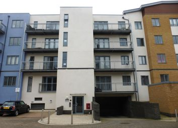 Thumbnail 1 bedroom flat for sale in Quayside Drive, Colchester