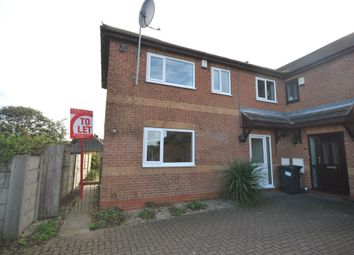 Thumbnail 2 bed town house to rent in Aisby Drive, Rossington, Doncaster