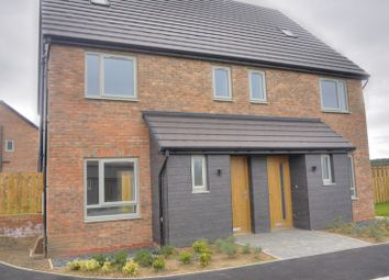 Thumbnail 4 bed semi-detached house for sale in Fitzgerald Place, Bedlington