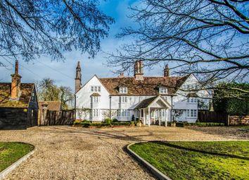 Thumbnail 6 bedroom detached house for sale in Brickendon Lane, Hertford, Hertfordshire