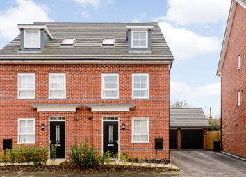 Thumbnail 4 bed semi-detached house for sale in Pack Horse Close, Northwich