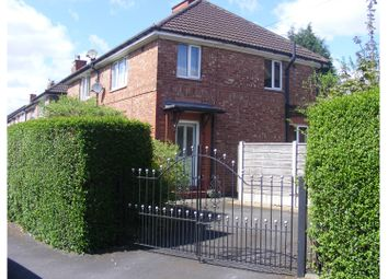 Thumbnail 3 bed semi-detached house for sale in Peveril Road, Altrincham
