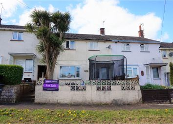 Thumbnail 3 bed terraced house for sale in Raleigh Avenue, Torquay