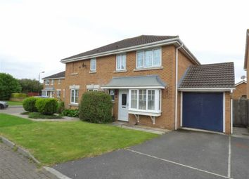 Thumbnail 3 bedroom semi-detached house for sale in Wyvern Close, Weston-Super-Mare