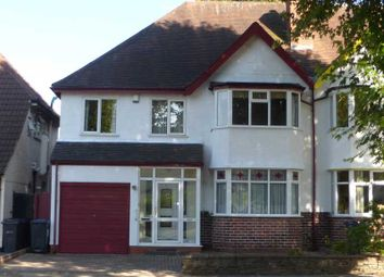 Thumbnail 5 bed semi-detached house for sale in Shirley Road, Hall Green, Birmingham