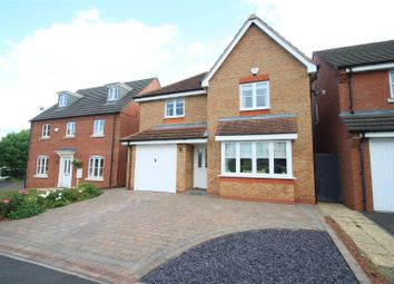Thumbnail 4 bedroom detached house for sale in Brindley Close, Stoney Stanton, Leicester