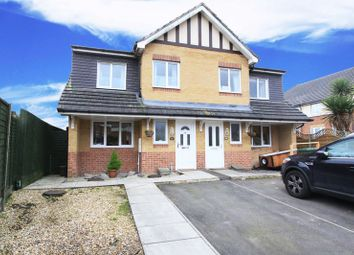 Thumbnail 3 bed semi-detached house for sale in Eden Road, West End, Southampton
