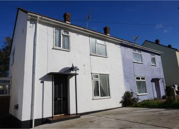 Thumbnail 3 bed semi-detached house for sale in Kent Avenue, East Cowes