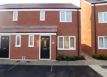 Thumbnail 3 bed semi-detached house to rent in Skylark Way, Clipstone Village, Mansfield