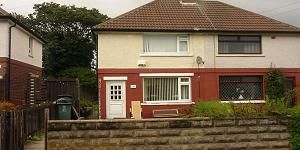 Thumbnail 3 bed terraced house to rent in Malham Avenue, Bradford 9