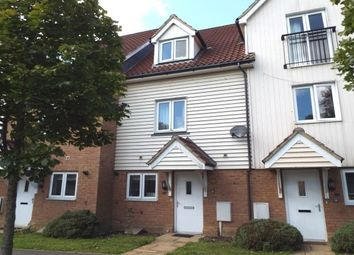 Thumbnail 4 bed property to rent in Page Road, Hawkinge, Folkestone