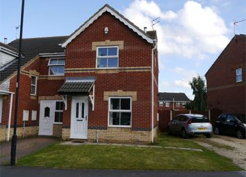 Thumbnail 2 bedroom semi-detached house to rent in Ansult Court, Bentley, Doncaster, South Yorkshire