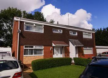 Thumbnail 3 bed semi-detached house for sale in Larkhill, Ashurst, Skelmersdale