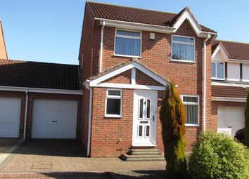 Thumbnail 3 bed detached house for sale in Castlewood Close, West Denton, Newcastle Upon Tyne