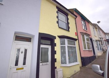 Thumbnail 2 bed terraced house for sale in Craigmore Avenue, Stoke, Plymouth