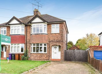 Thumbnail 3 bed semi-detached house for sale in Cambridge Road, Hitchin