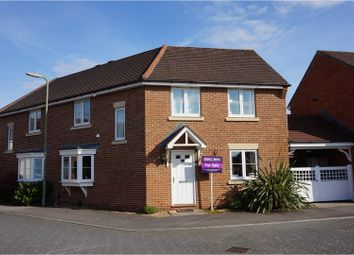 Thumbnail 4 bed semi-detached house for sale in King Henry Road, Fleet