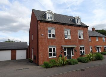 Thumbnail 5 bed detached house for sale in Stonebridge Close, Ibstock, Leicestershire