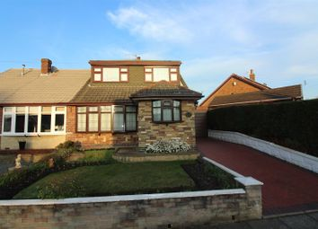 Thumbnail 2 bed semi-detached bungalow for sale in Thirlmere Grove, Longton, Stoke-On-Trent