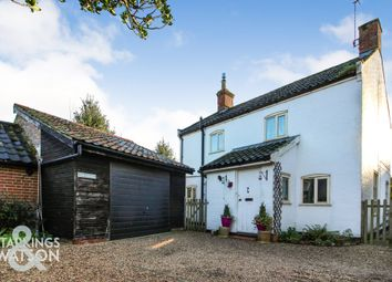 Thumbnail 3 bed cottage for sale in The Street, Woodton, Bungay