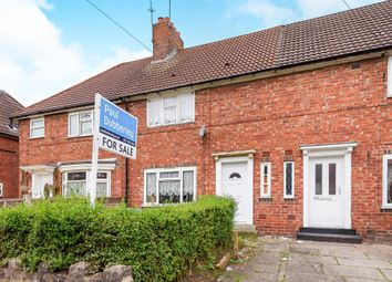 Thumbnail 3 bed terraced house for sale in Bassett Road, Wednesbury