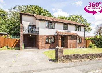Thumbnail 5 bed detached house for sale in Glanrhyd, Coed Eva, Cwmbran