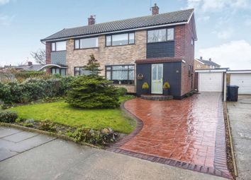 Thumbnail 3 bed semi-detached house for sale in Pinewood Avenue, Lowestoft