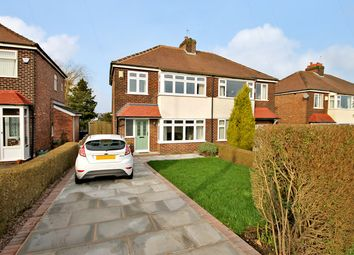 Thumbnail 3 bed semi-detached house for sale in Stockport Road, Thelwall, Warrington