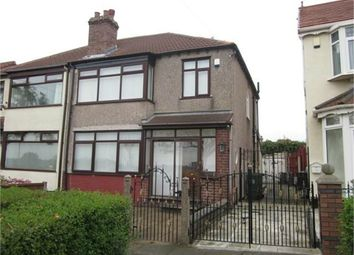 Thumbnail 3 bed semi-detached house to rent in Stuart Road North, Bootle, Merseyside