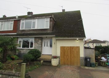 Thumbnail 3 bed semi-detached house to rent in St.Davids Close, Weston-Super-Mare