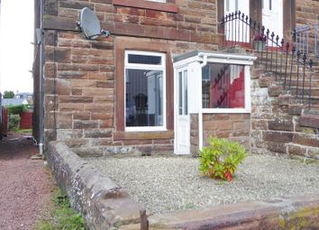 Thumbnail 1 bed flat for sale in Annan Road, Dumfries, Dumfries And Galloway.