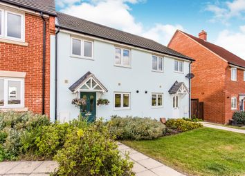 Thumbnail 3 bed terraced house for sale in Gilbert Road, Stanton, Bury St. Edmunds