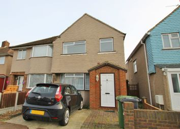 Thumbnail 3 bed semi-detached house to rent in Marston Avenue, Dagenham