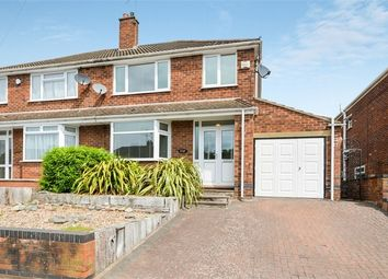 Thumbnail 3 bed semi-detached house for sale in Maidavale Crescent, Styvechale, Coventry, West Midlands