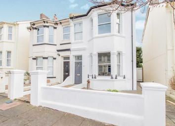 Thumbnail 3 bed semi-detached house for sale in Havelock Road, Brighton, East Sussex