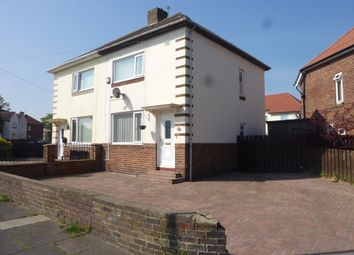Thumbnail 2 bed semi-detached house to rent in Blyth Street, Seaton Delaval, Whitley Bay