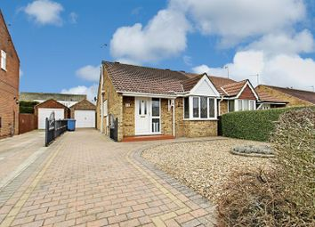 Thumbnail 2 bed semi-detached bungalow for sale in Brevere Road, Hedon, Hull