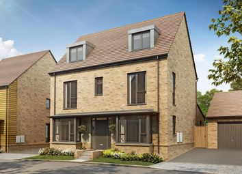 "Thumbnail 5 bed detached house for sale in ""Shaftesbury Plus"" at The Green, Upper Lodge Way, Coulsdon"