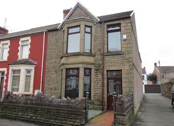 Thumbnail 3 bedroom end terrace house for sale in Tanygroes Street, Port Talbot, Neath Port Talbot.