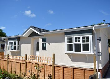 Thumbnail 2 bed mobile/park home for sale in Eastern Green Park Two, Eastern Green, Penzance