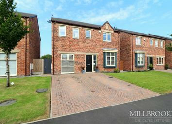 Thumbnail 4 bed detached house to rent in Brook Meadow Close, Astley