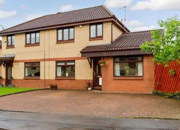 Thumbnail 4 bedroom semi-detached house for sale in Herald Grove, Motherwell, North Lanarkshire